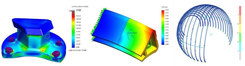 Large Aluminium Structure Analysis