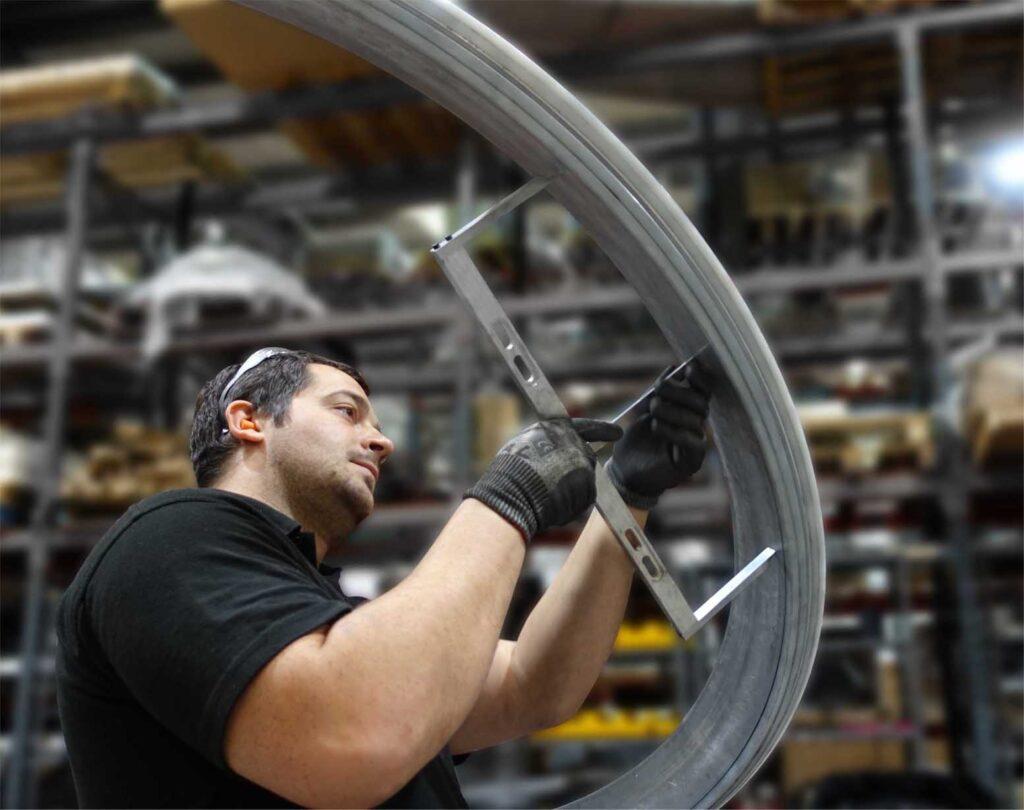 Aluminium Bending Quality Checking