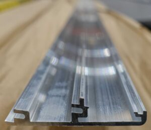 Thin walled Extrusion for tight aluminium bending