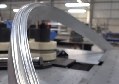 3D Curved Aluminium Window Frame
