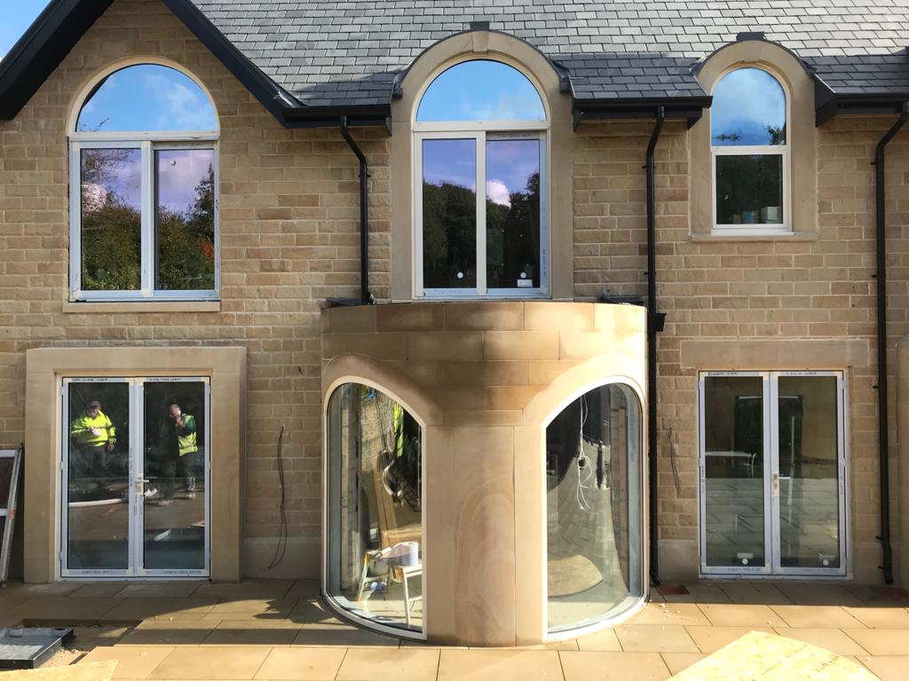 3D Aluminium extrusion Bending Arch windows by Alubend