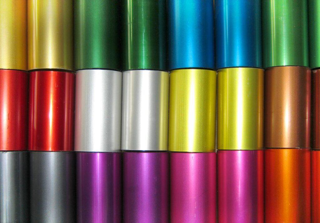Anodising aluminium extrusions for bending