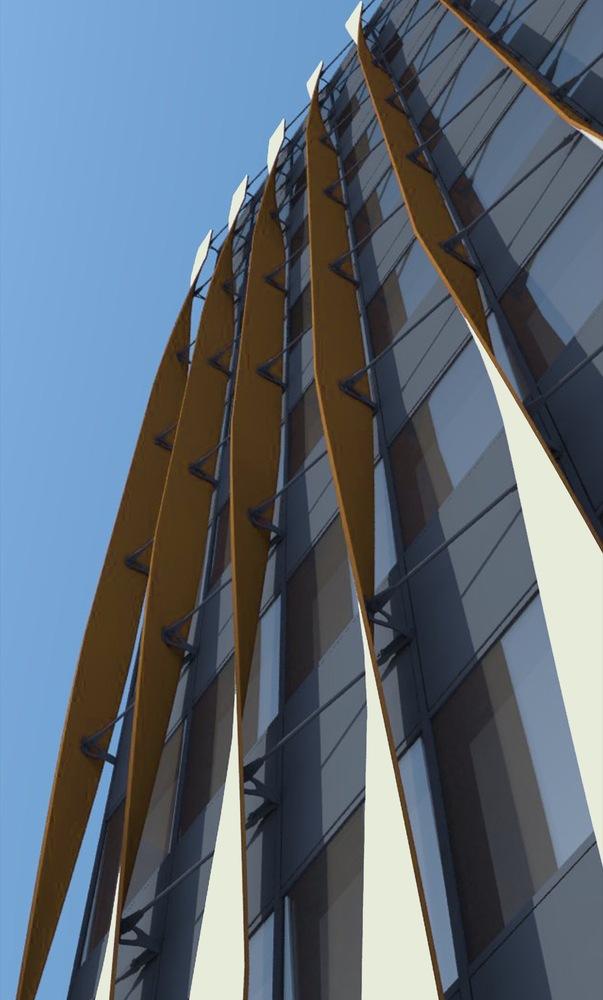 Twisting Aluminium Sections for Facade