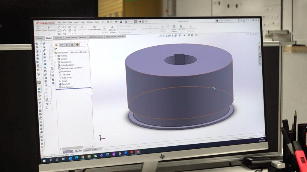 Inhouse tooling design at alubend
