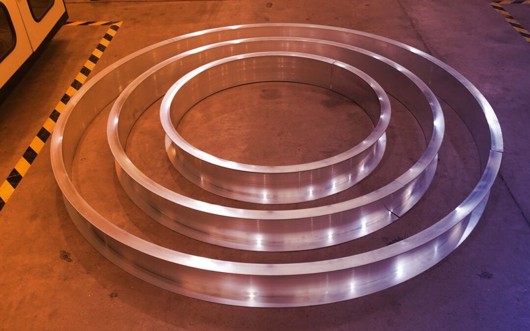 Bending LED Light Extrusions